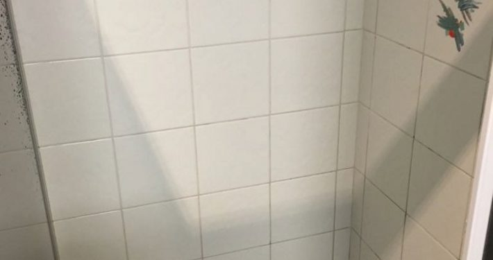 Shower Tile Cleaning After Picture
