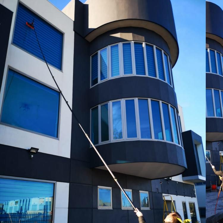 commercial window cleaning picture